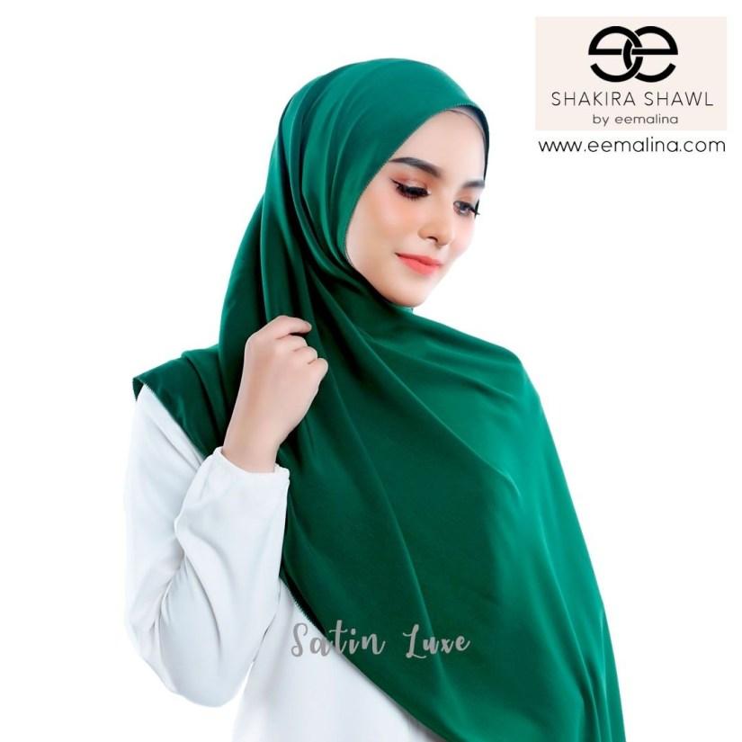tutorial hijab pashmina satin yang panjang