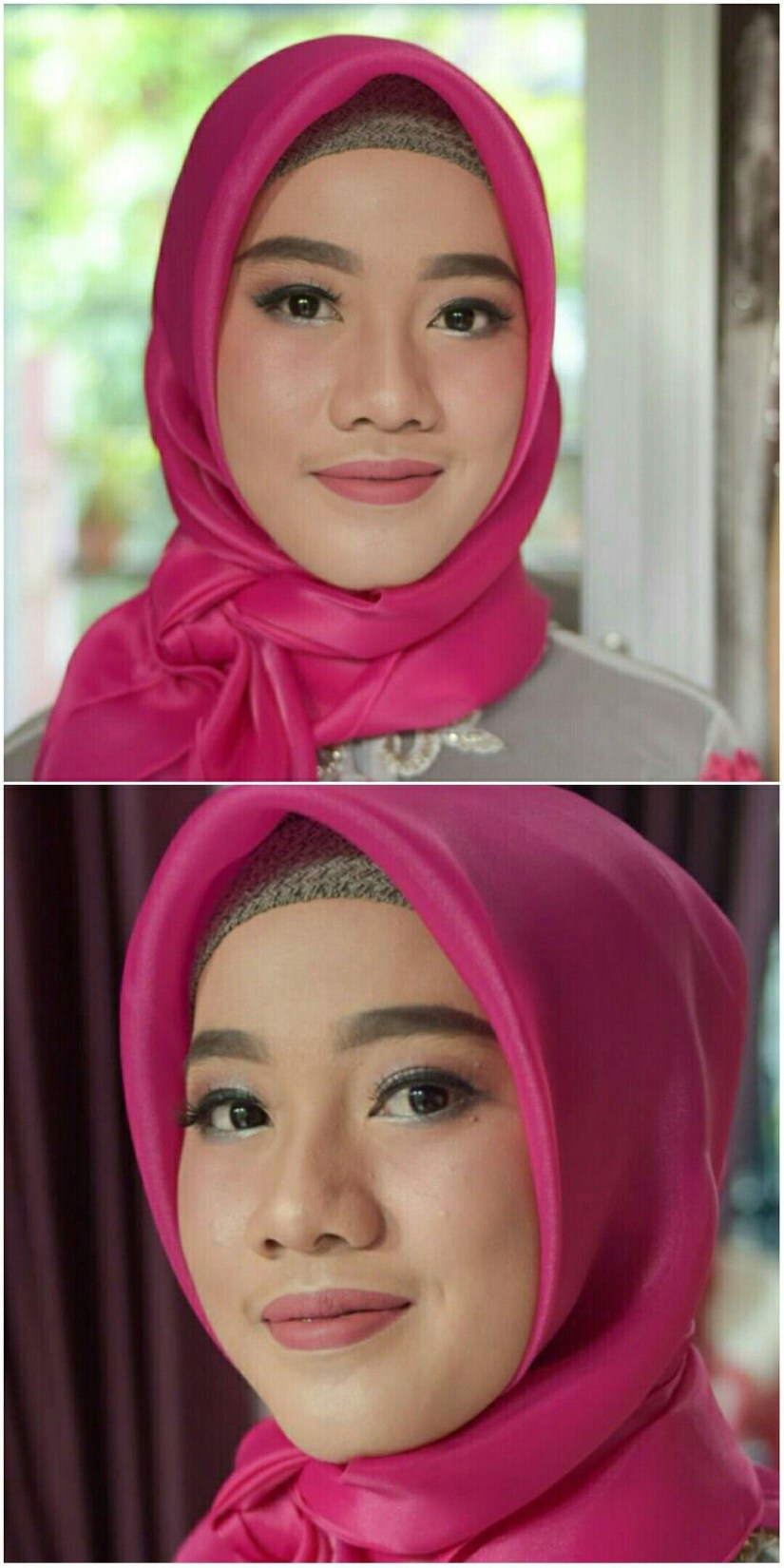 Tutorial make up natural hijab untuk acara formal