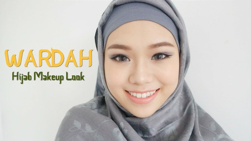 Tutorial make up natural hijab yang mudah