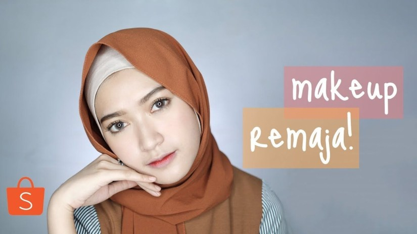 TuTutorial make up natural hijab untuk remaja