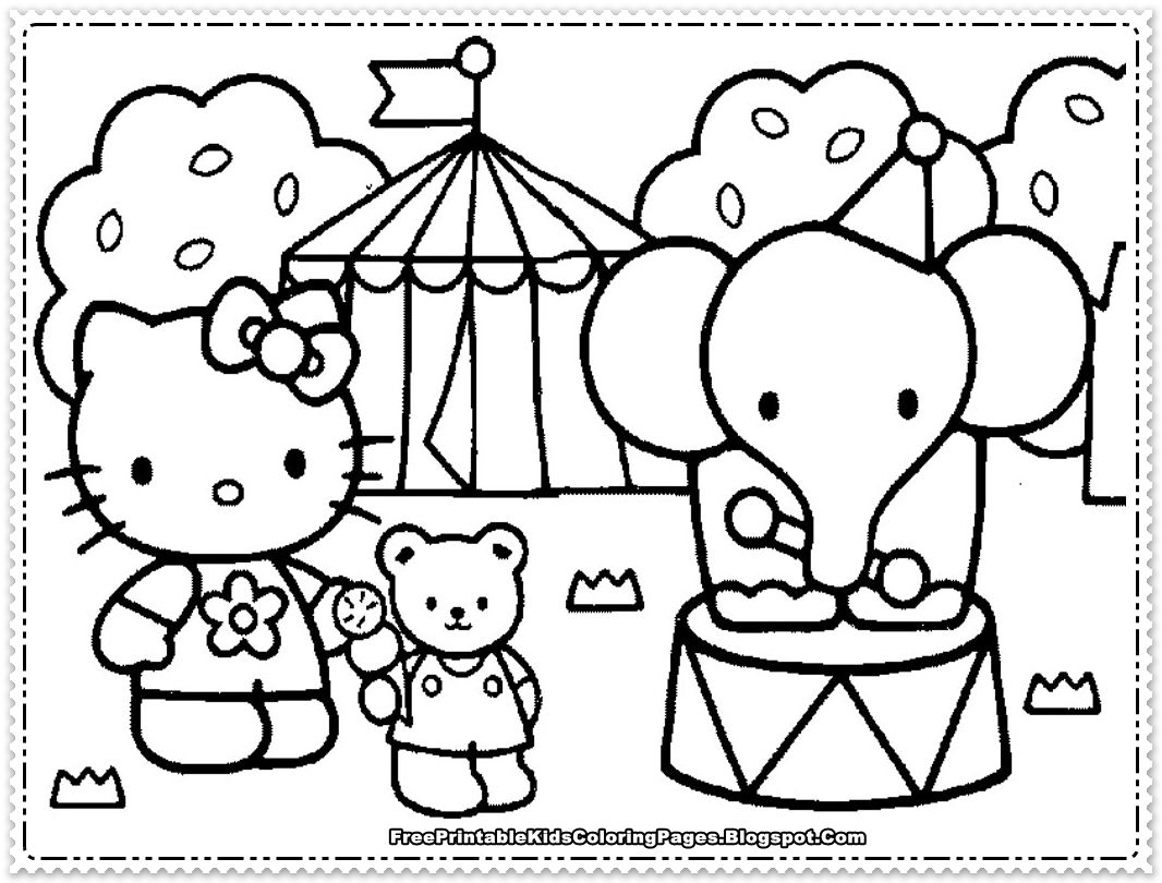 hello kitty coloring pages for girls hello kitty coloring