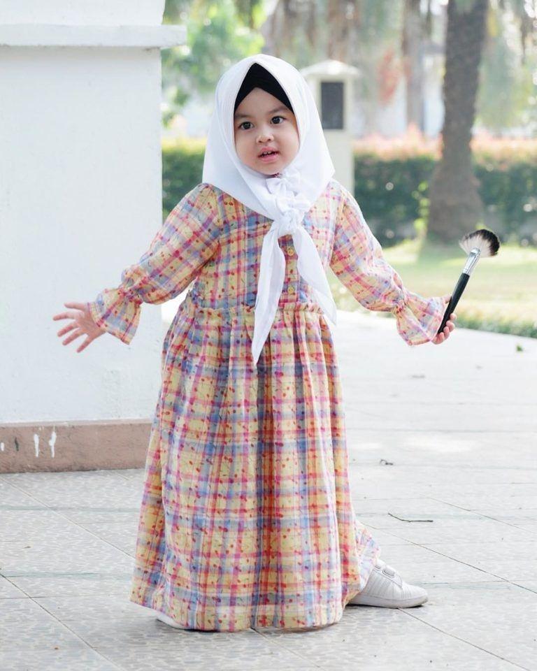 gamis anak model baru gaun bayi perempuan pakaian