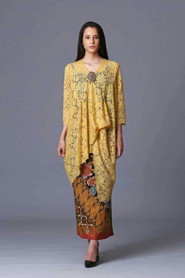 288 best ethnic batik kebaya images on pinterest