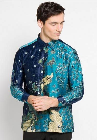 53 model baju batik slim fit terbaru inspirasi untuk gaya
