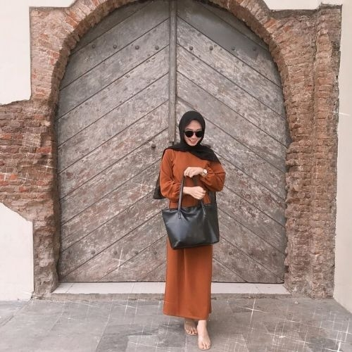 6 ootd hijab kondangan simple ala selebgram agar kamu