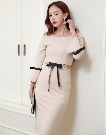 77 model baju dress panjang elegan casual terbaru 2020