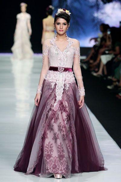 aneka model kebaya dress terbaru yang cantik mempesona