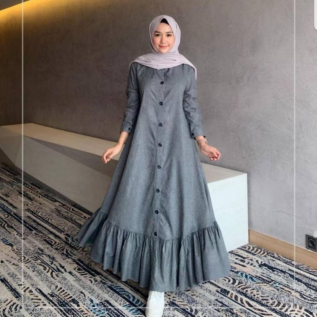 baju dress panjang adimerdeka
