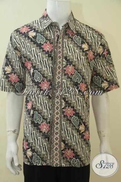 baju kemeja batik klasik modern busana batik lengan