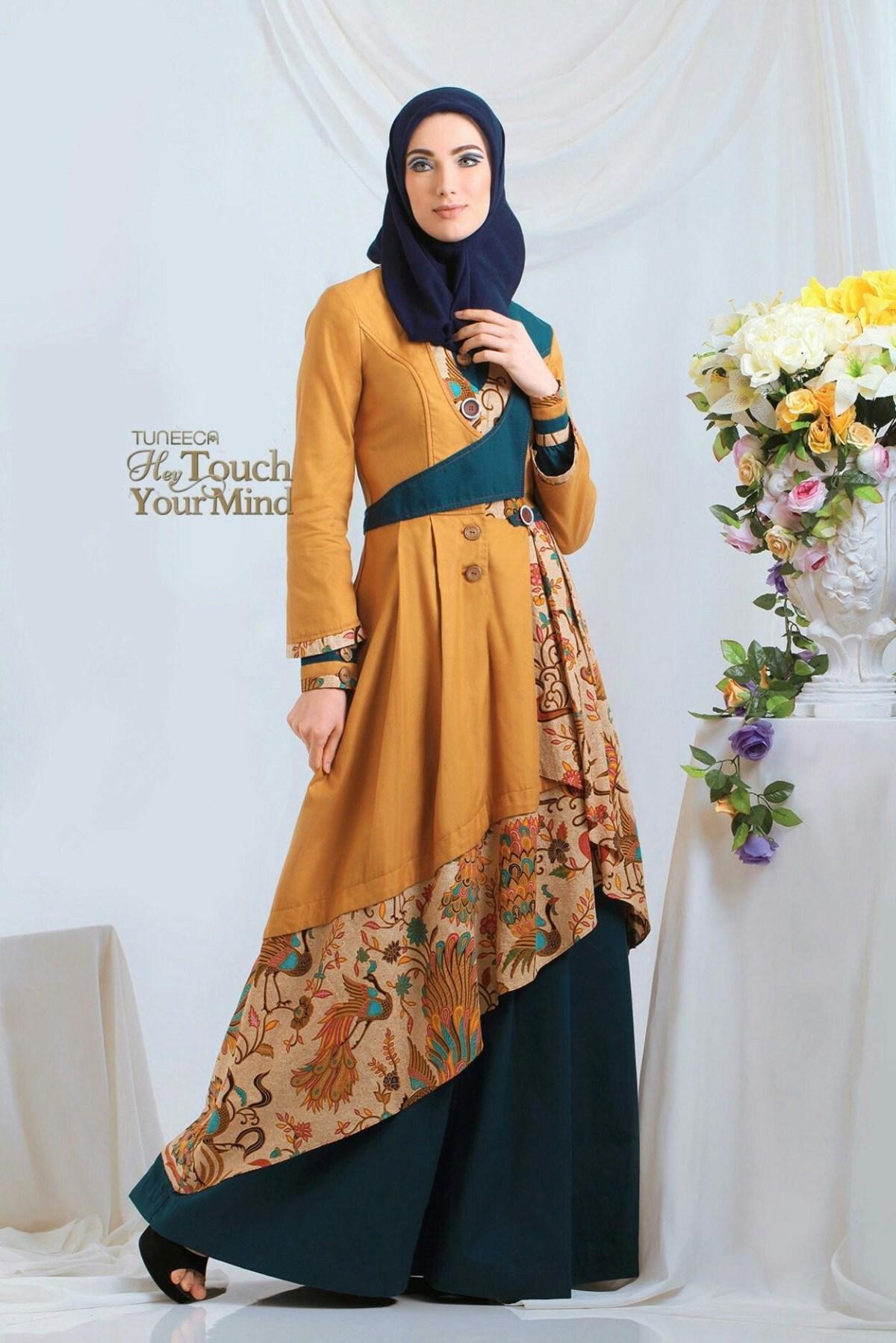 batik cantik di 2020 pakaian wanita bunga model pakaian