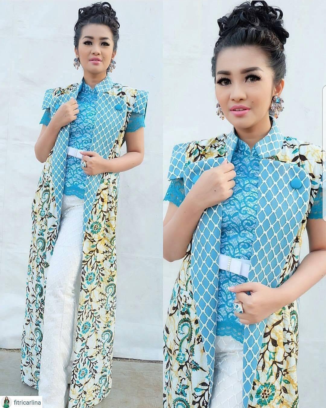 best desain baju batik kombinasi modern dalam membuat