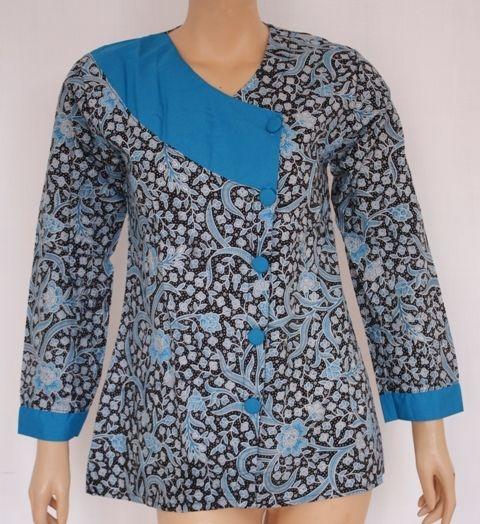 blouse batik kombinasi google search blus baju kurung