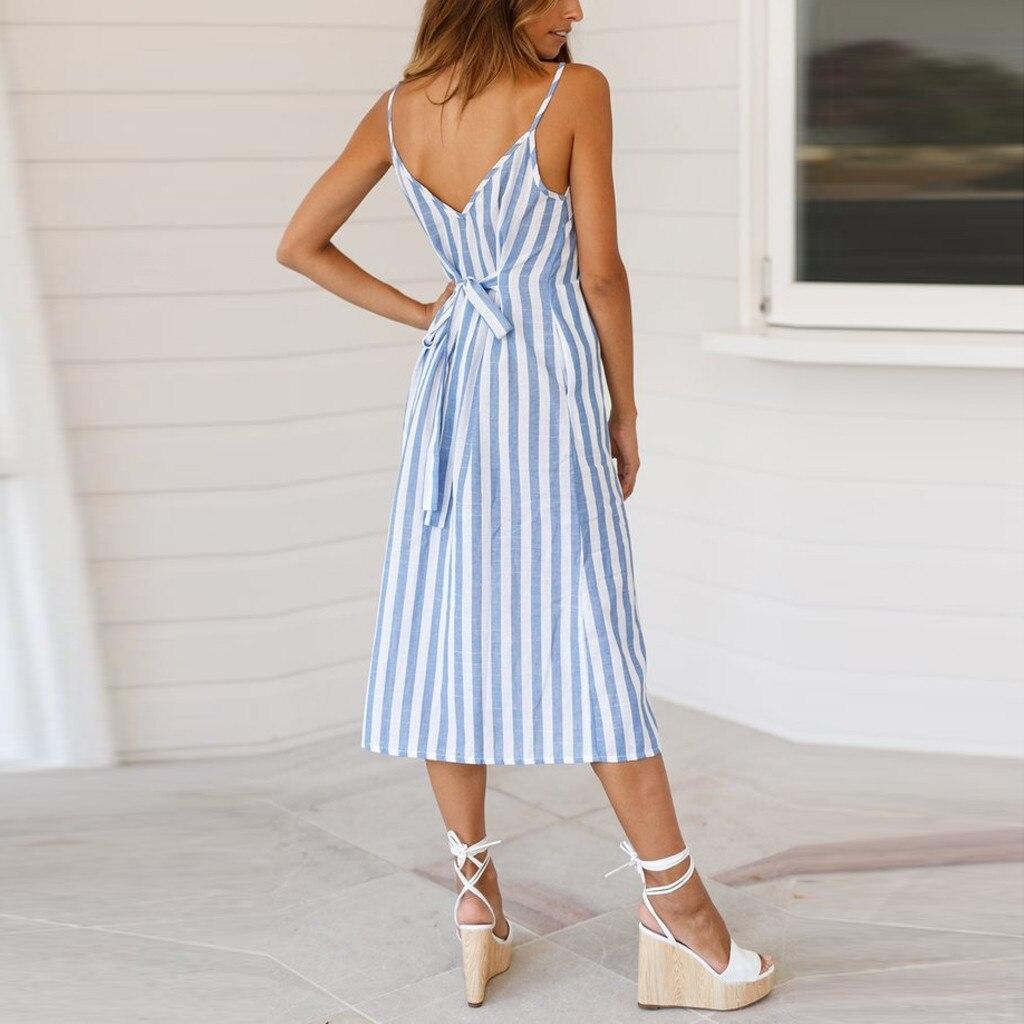 casual sundress women summer dress 2020 boho sexy dress