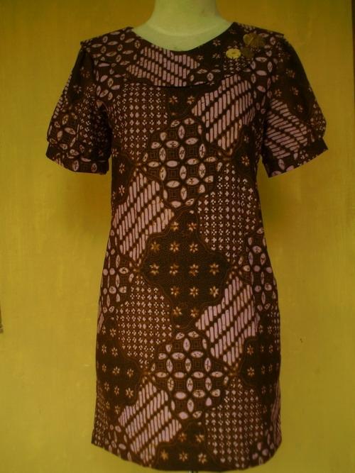 cute knitting baju batik