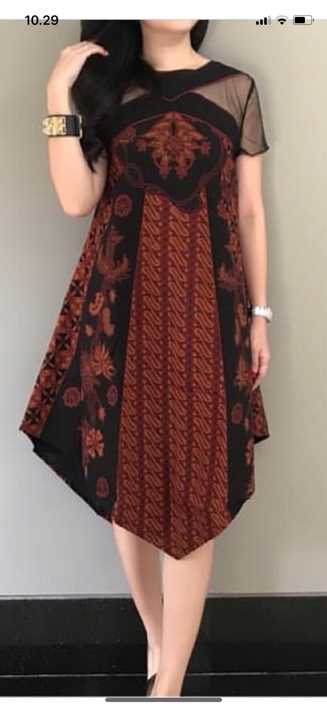 gambar batik oleh sinta wanita model baju wanita model