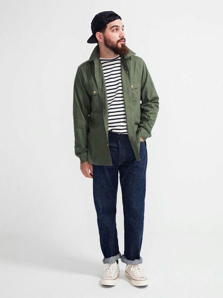 khakis pakaian kasual pria model pakaian pria gaya pria