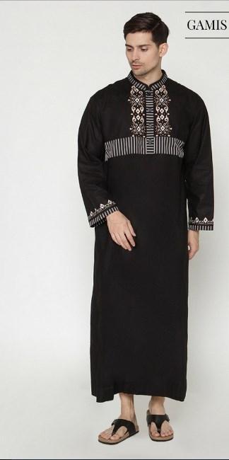 model baju batik gamis pria laki laki terbaru dan modern
