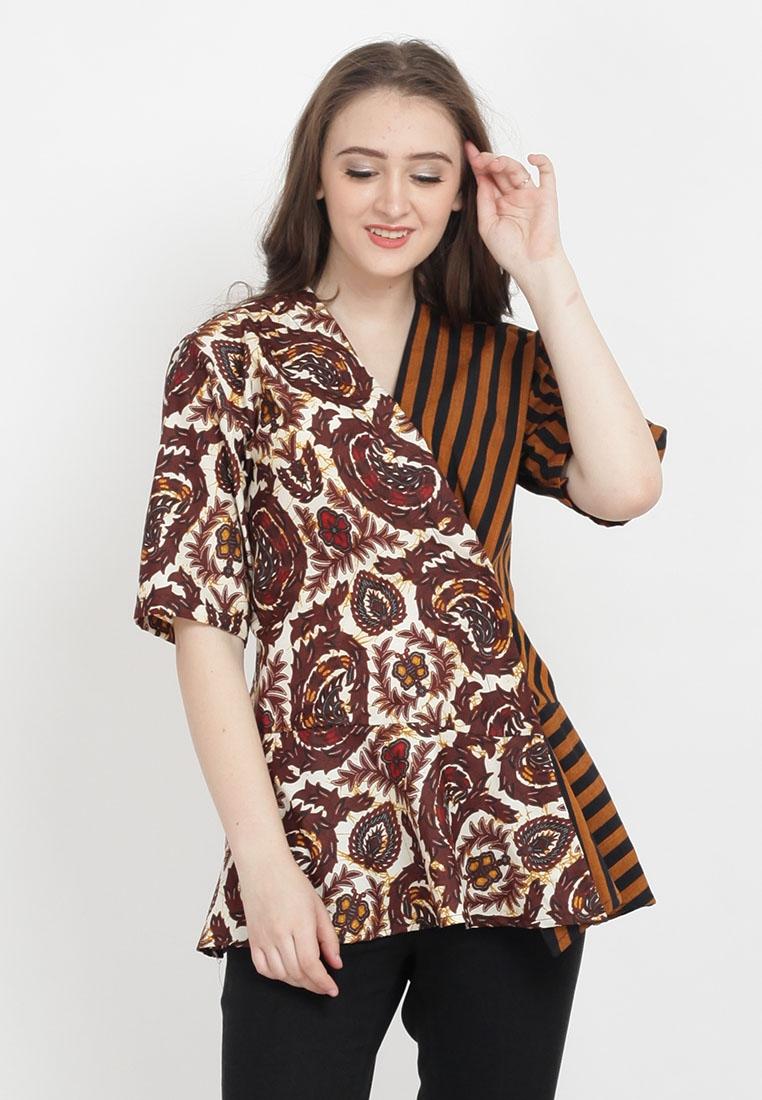 model baju batik modern terbaru yang anggun