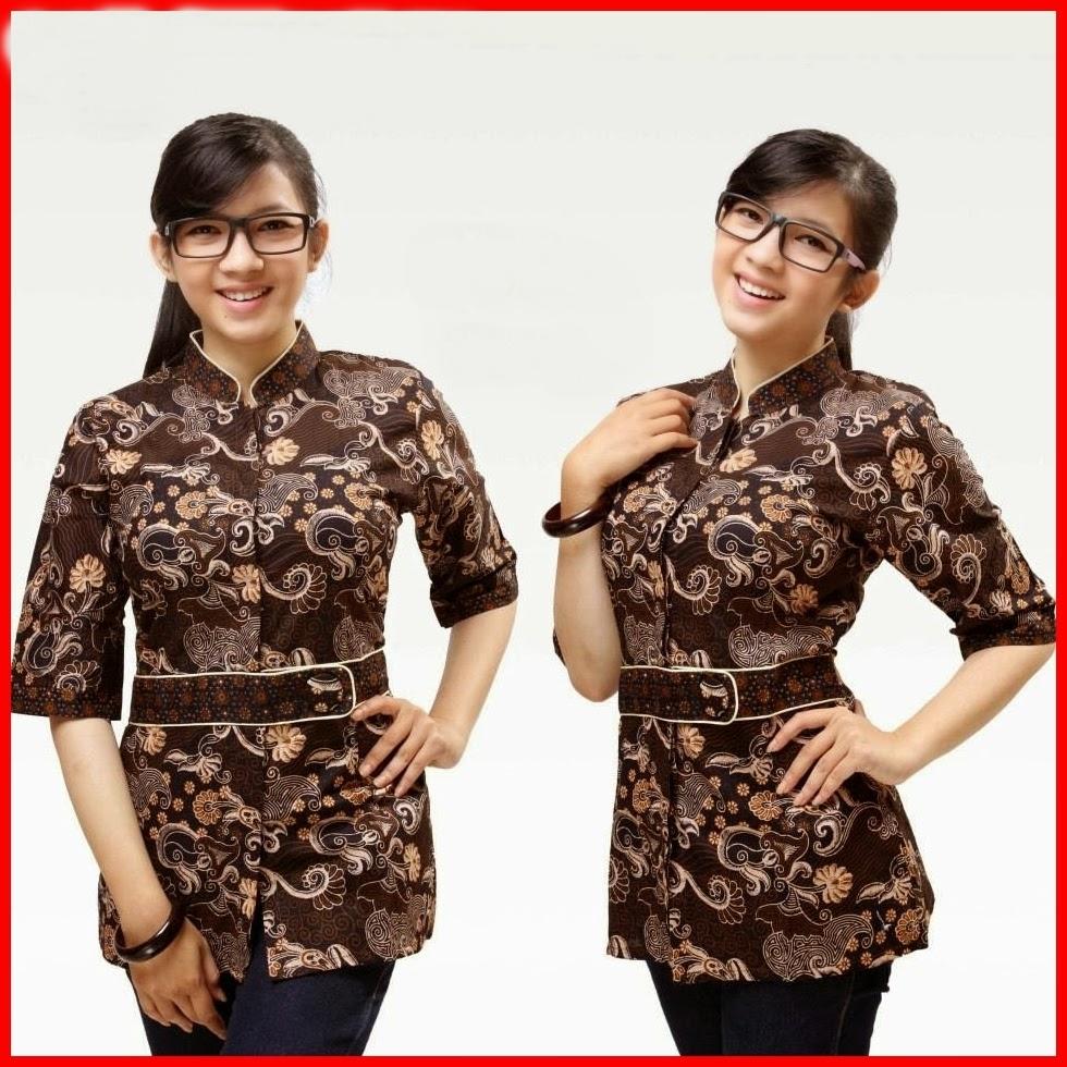 model baju batik wanita mode dan kecantikan