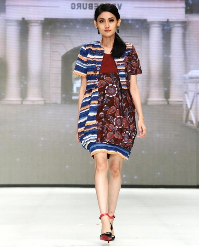 model baju batik wanita modern terbaru batik tulis 1
