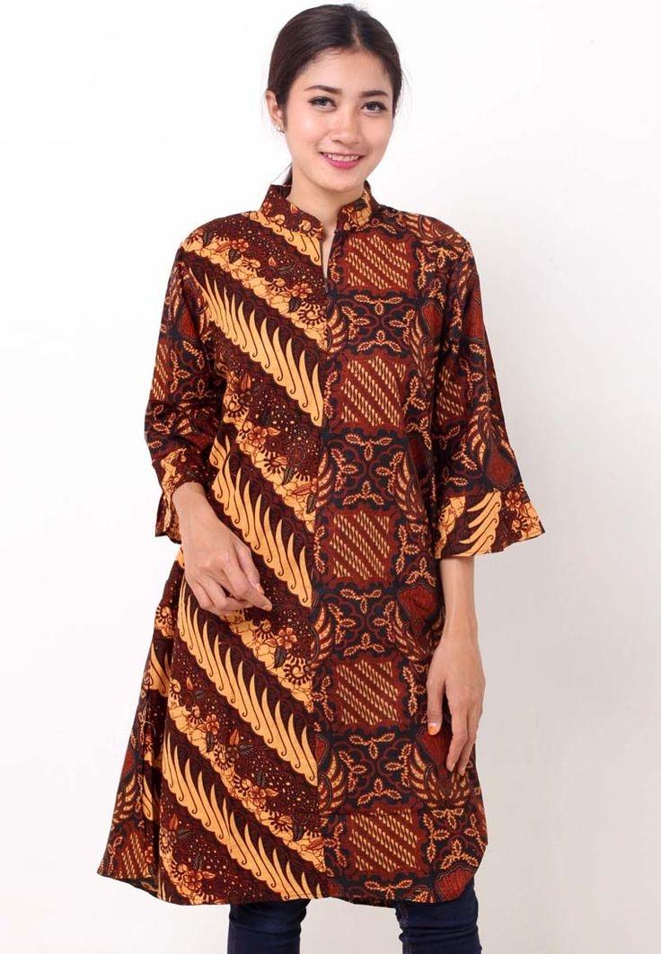 model batik blus wanita di 2020 wanita baju atasan 1