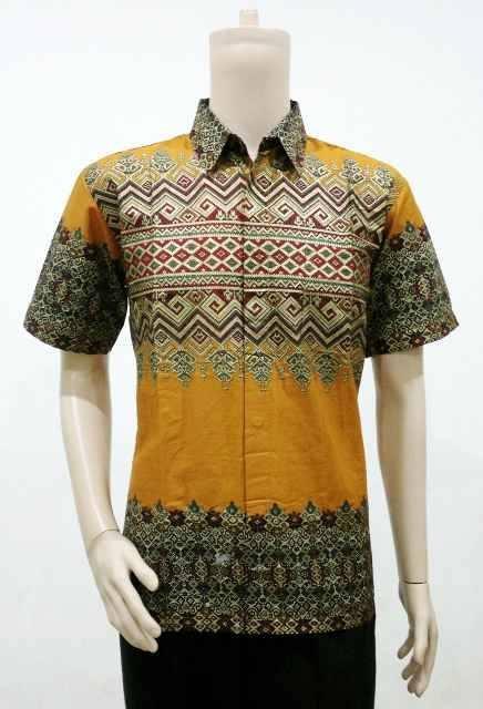model batik pria motif tenun songket batik bagoes solo