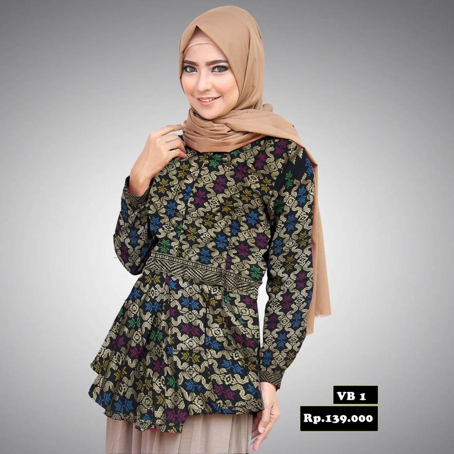 model desain baju batik modern terbaik untuk wanita saat