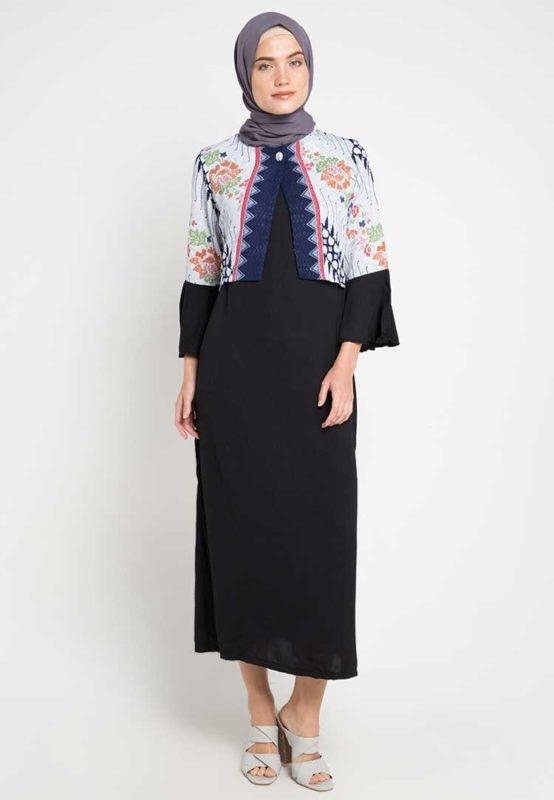 model dress batik panjang yang mampu membuat anda tampil beda