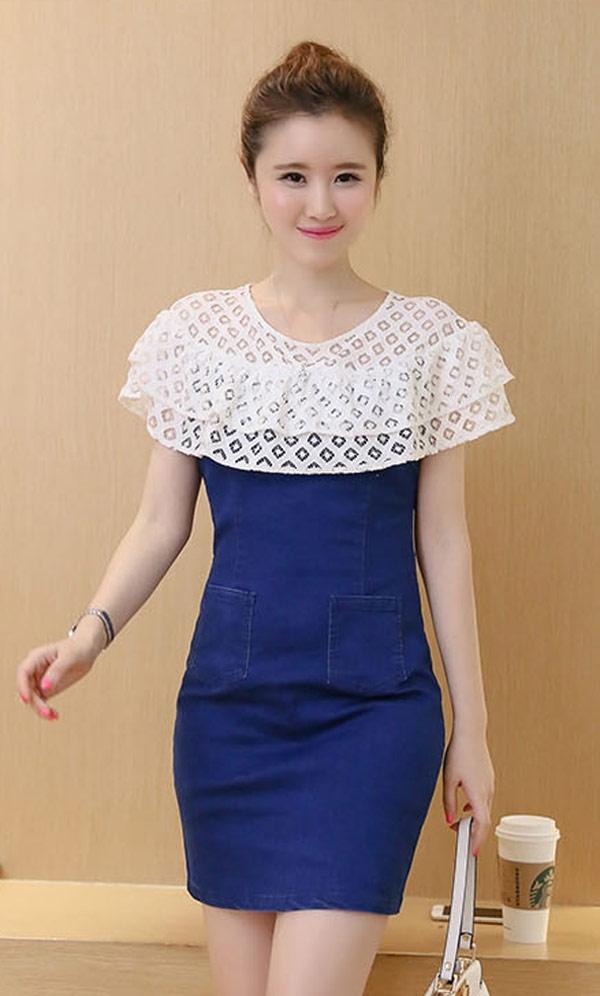 model dress variasi brokat best top muslim long dress