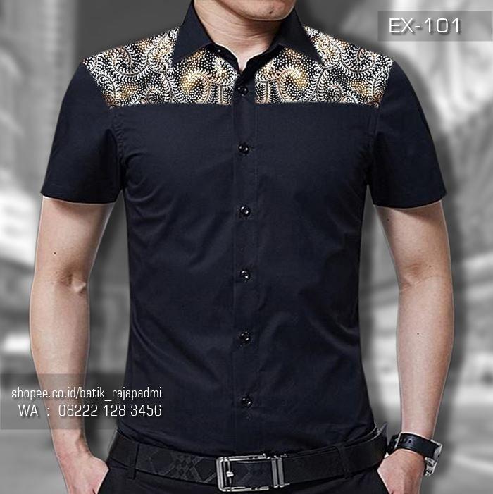 seragam batik premium batik kantor simple elegan batik