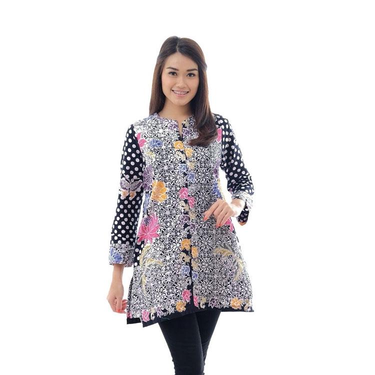 top 47 model baju atasan wanita muslim terbaru 2021