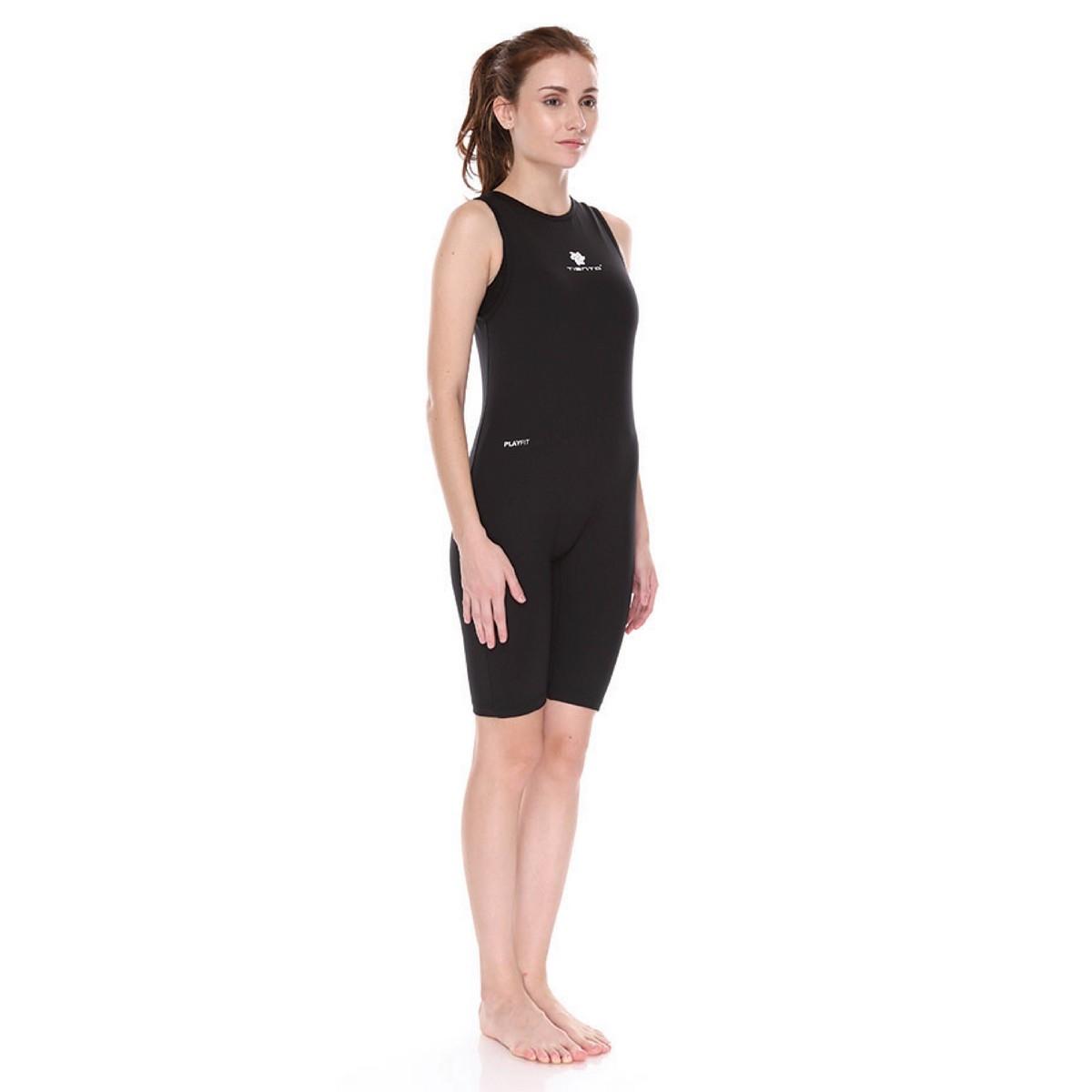 wetsuit singlet women black baju celana pakaian renang