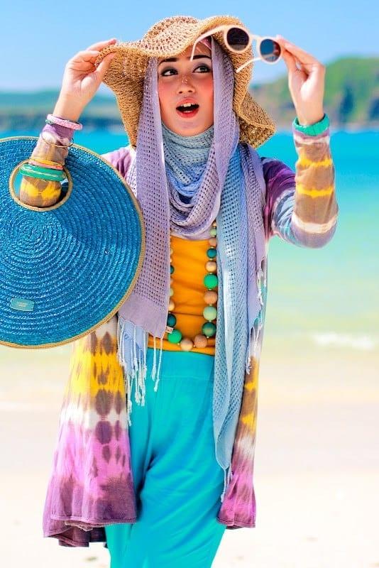 beach hijab outfits 34 modest beach dresses for muslim girls