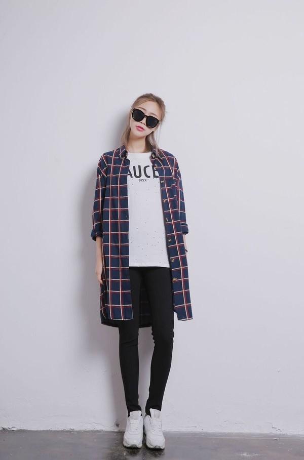 coat cardigan checkered cardigan oversized aesthetic