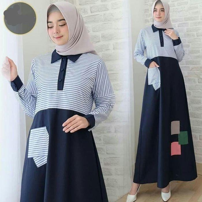 gambar baju gamis remaja model sekarang ragam muslim