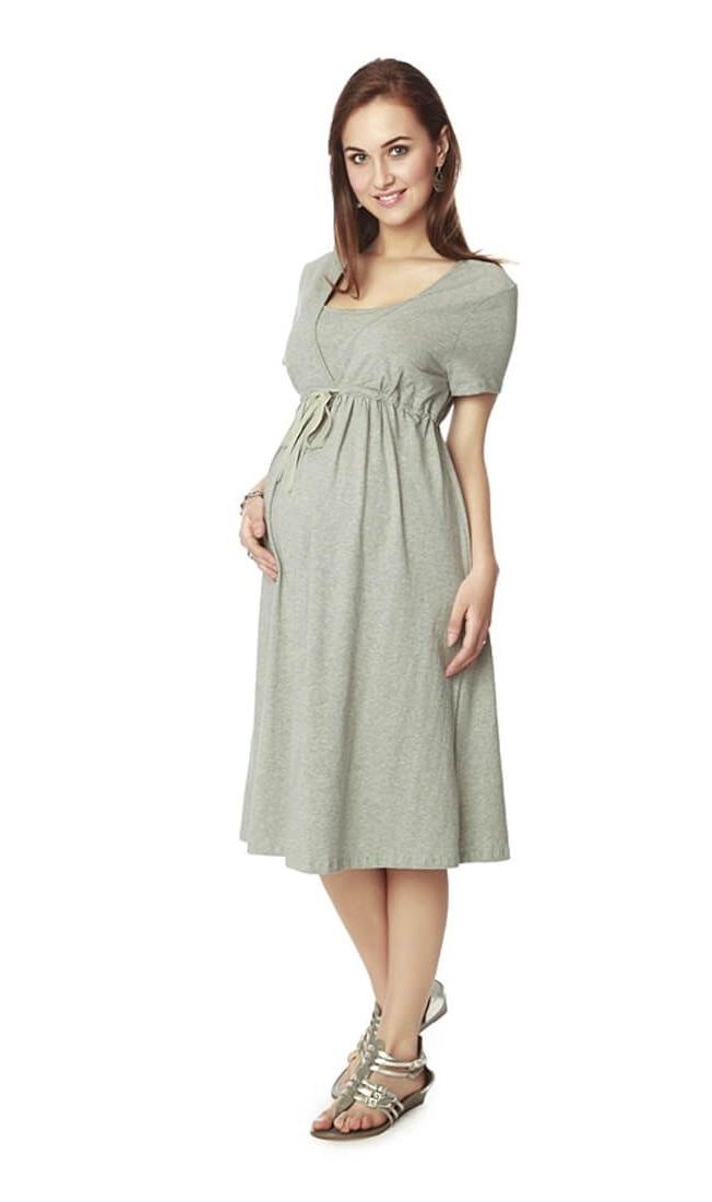 grey maternity dress dressedupgirl