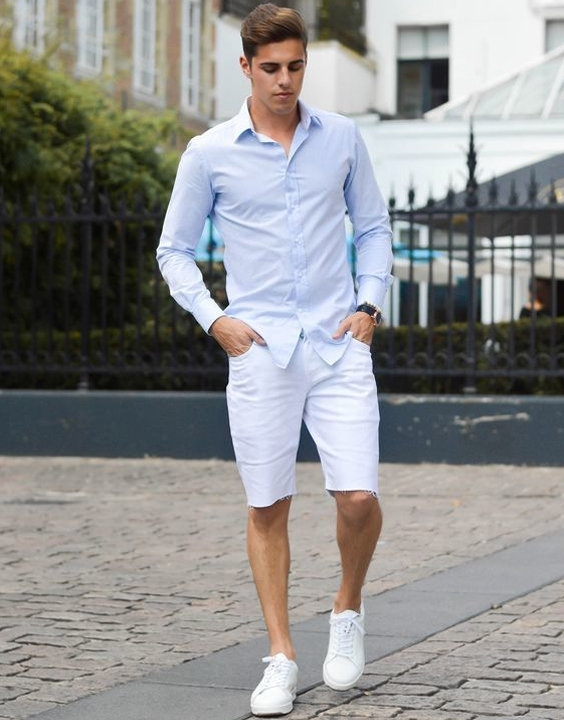 how to wear shorts shorts outfit ideas bewakoof blog