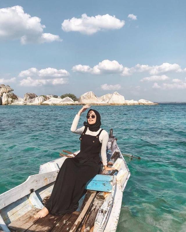 inspirasi ootd fashion hijab ala selebgram mega iskanti di