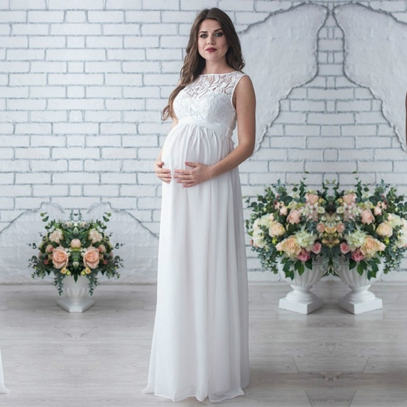 lace maternity dresses maternity photography props women