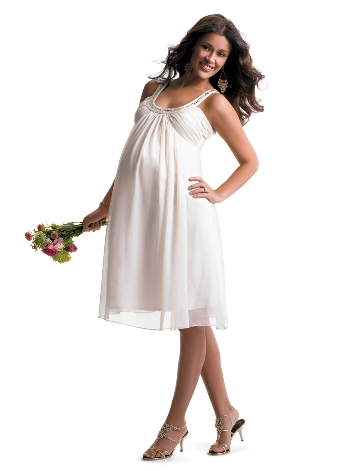 latest fashionable dresses bring in the newborn in
