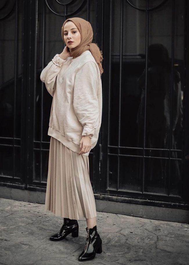model pakaian hijab oleh kriye di kombinler gaya