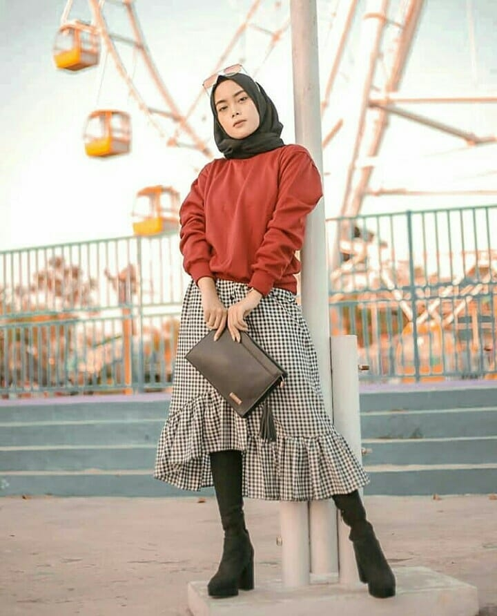 ootd hijab hoodie kekinian dijamin makin chic wokeid