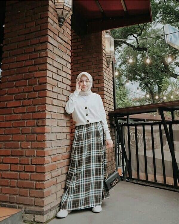 ootd hijab rok kekinian yang mana style kamu