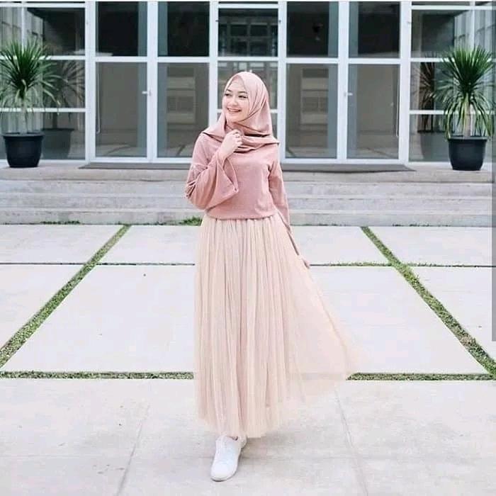 ootd hijab untuk lebaran 2020 remaja