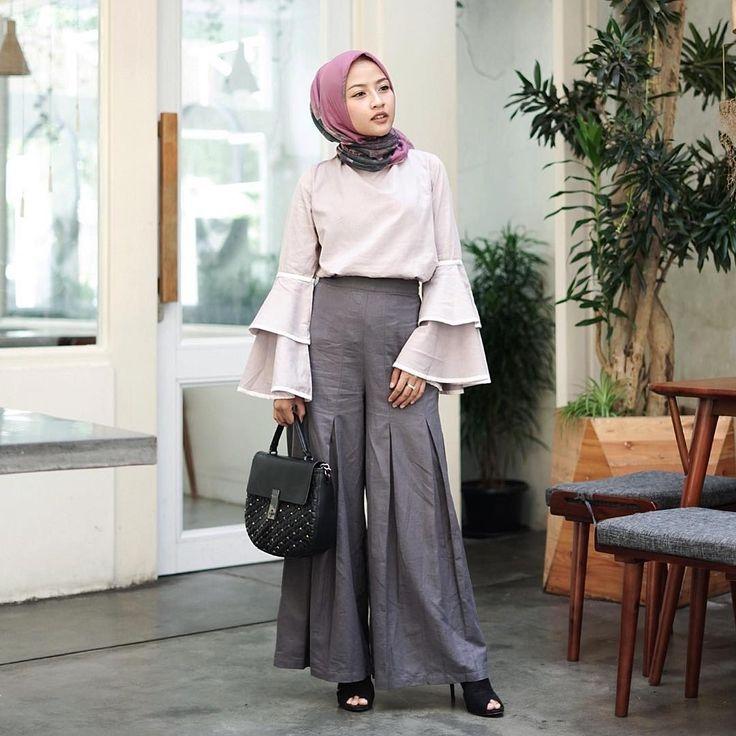 outfit hijab kulot remaja 1