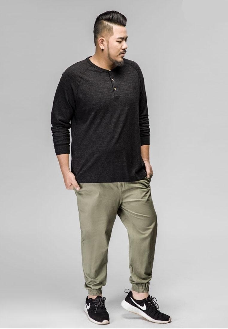 plain mens plus size jogger pants plus size clothes