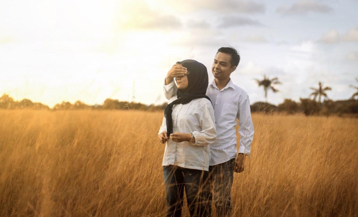 prewedding hijab ideas foto perkawinan perkawinan