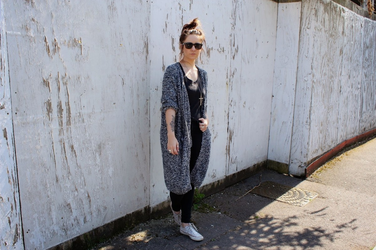 style crescent ootd the cardigan
