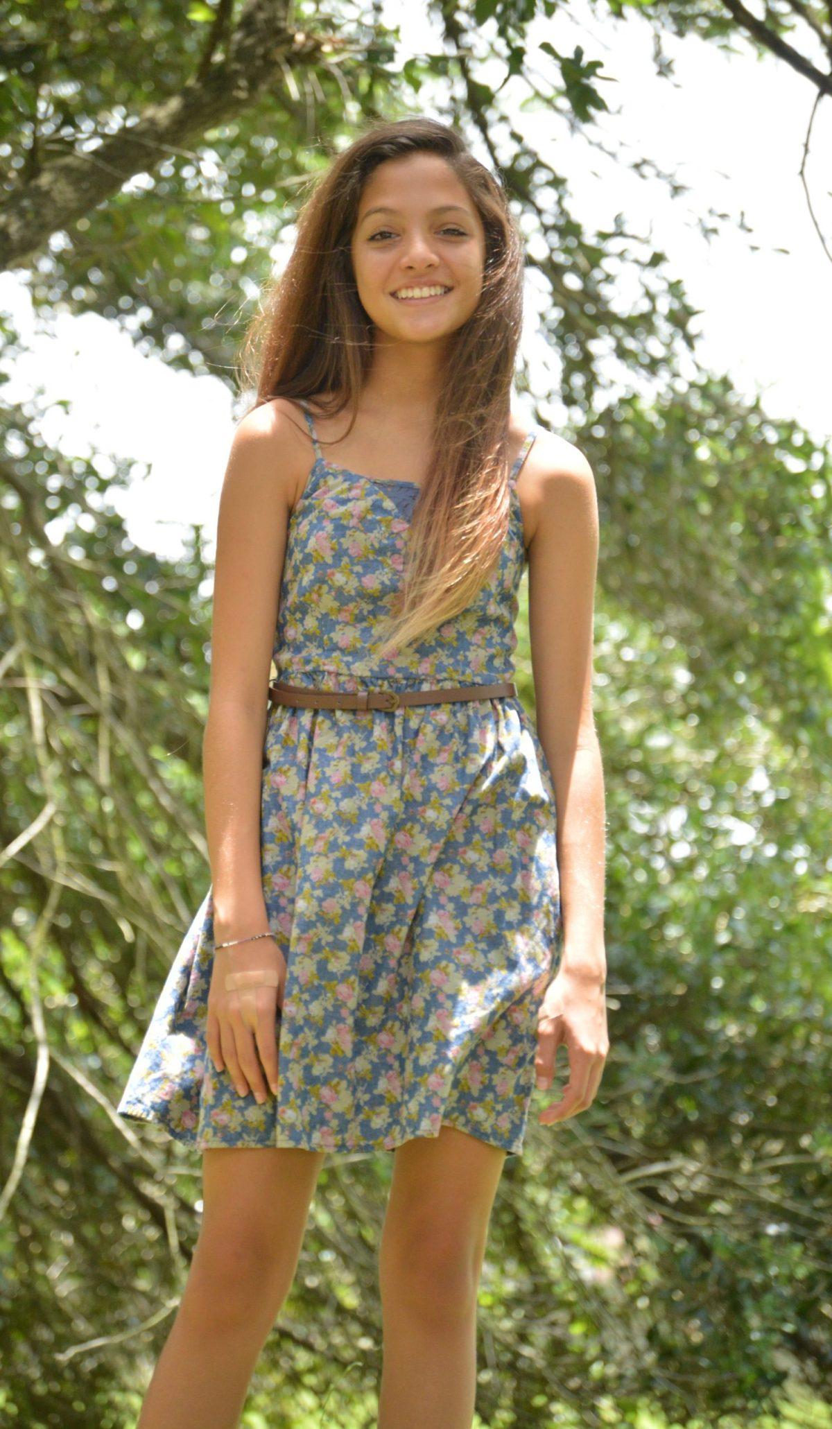 teen style tuesday floral denim a fashion fiend