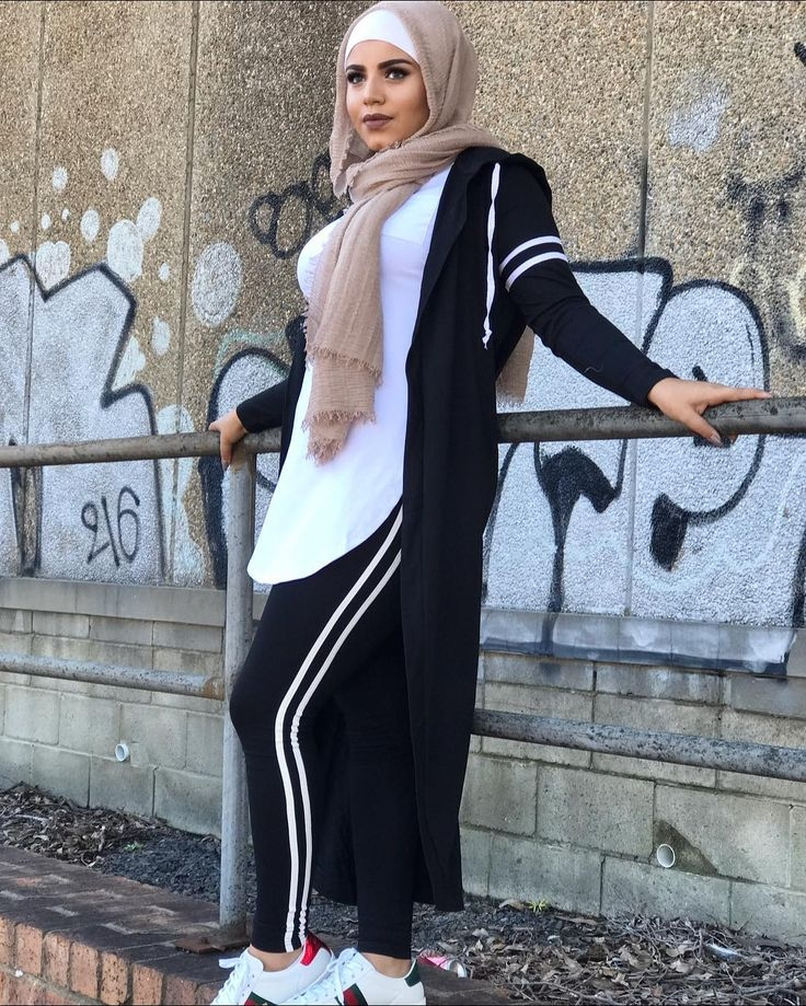 the sporty striped cardigan perfect for everyday